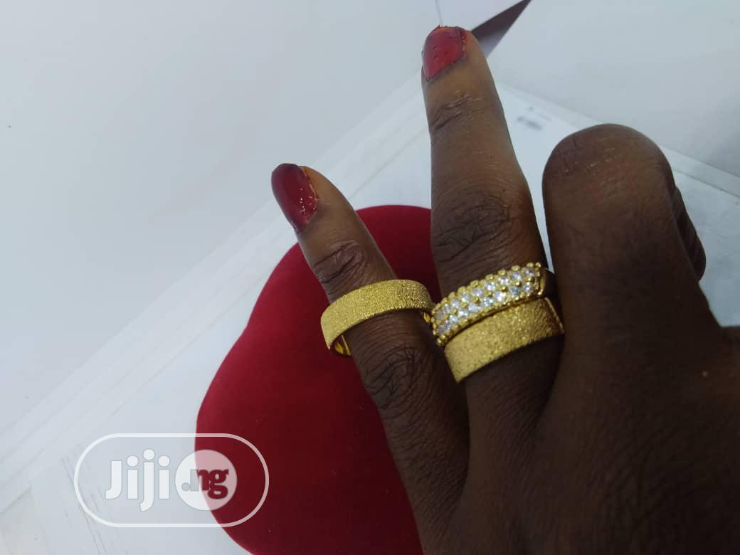 Real Romanian Gold Set Of Wedding Ring 0001- Gold | Wedding Wear & Accessories for sale in Ojodu, Lagos State, Nigeria