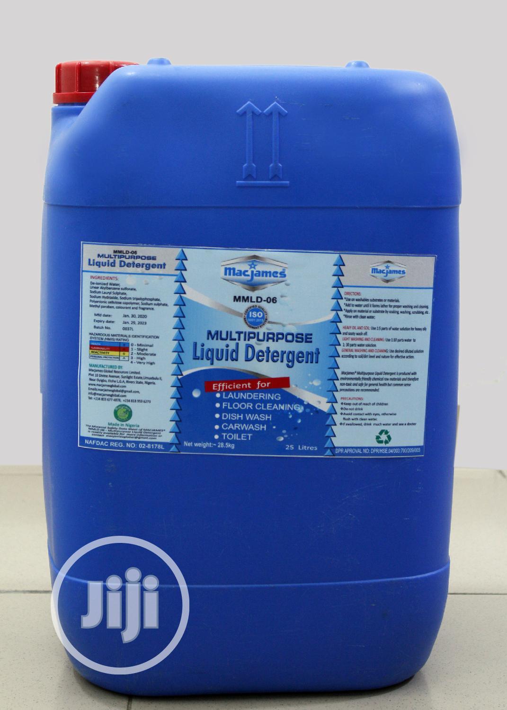 Multipurpose Detergent/Car Wash