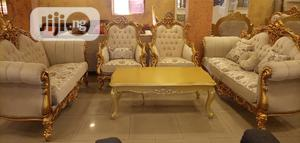 Set of Royal Sofa Chair With Center Table and 2 Side Tables | Furniture for sale in Abia State, Umuahia