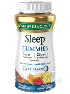 Nature's Bounty Sleep Gummies Tropical Punch Flavored 60 Gum | Vitamins & Supplements for sale in Lagos State, Ojo