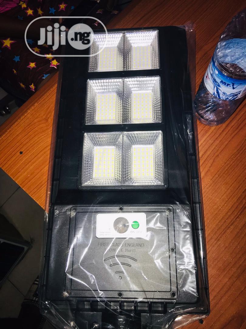 Solar All In One Street Light 120watts