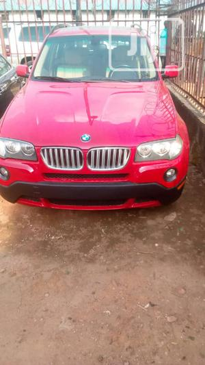 BMW X3 2007 3.0i Sport Automatic Red | Cars for sale in Lagos State, Ikeja