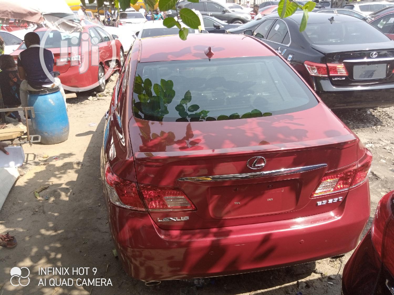 Lexus ES 2010 350 Red | Cars for sale in Apapa, Lagos State, Nigeria