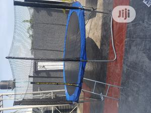 10feet Trampoline With Ladder   Sports Equipment for sale in Lagos State, Ikeja