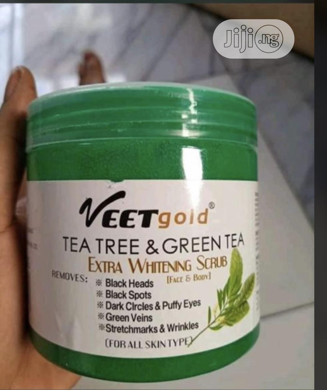 Veet Gold Green Tea Stretch Mark and Green Vein Scrub