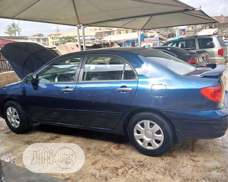 Archive: Toyota Corolla 2004 1.4 D Automatic Blue