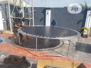 12feets Trampoline   Sports Equipment for sale in Lagos State, Ikorodu