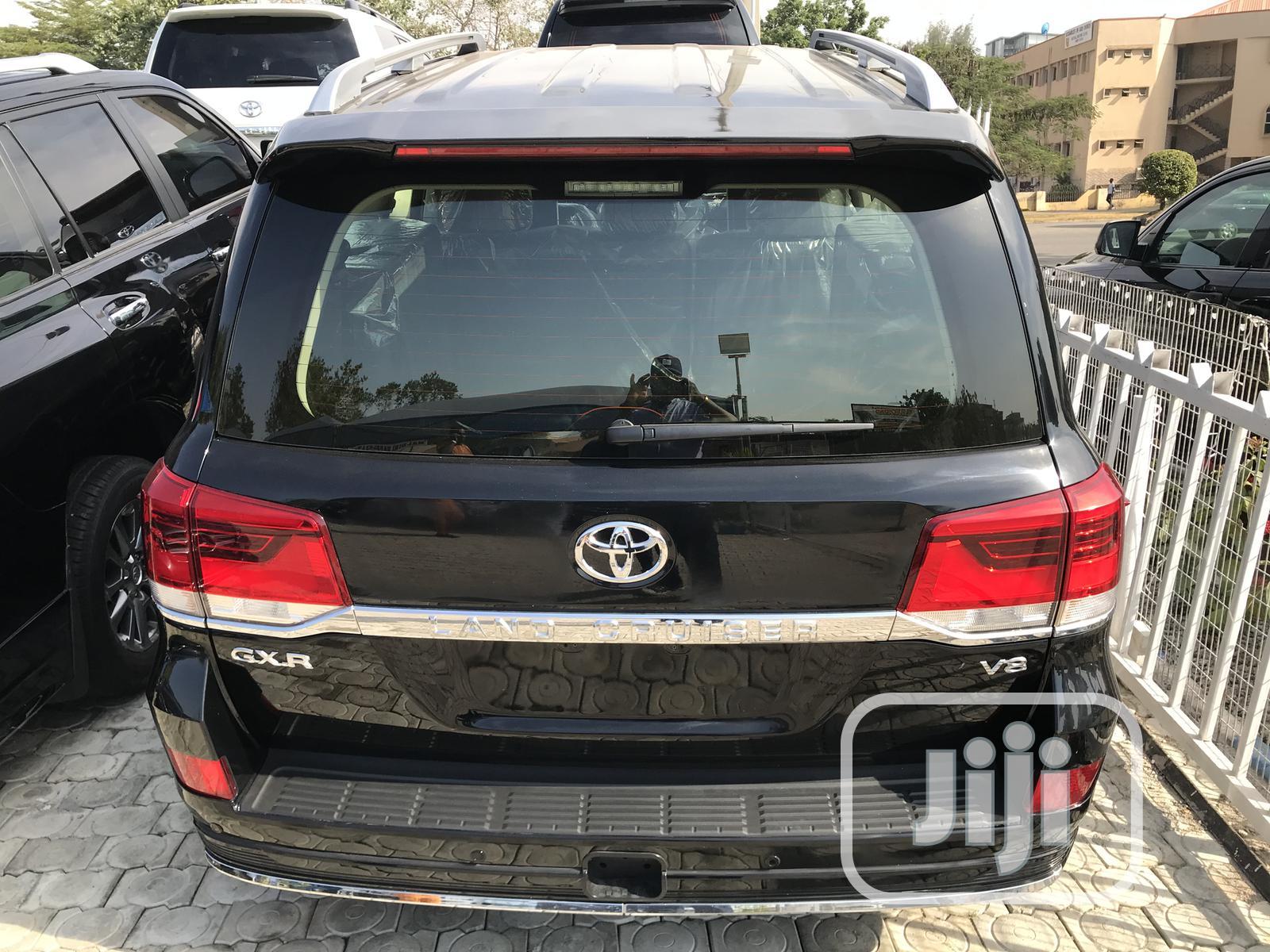 Toyota Land Cruiser 2020 Black