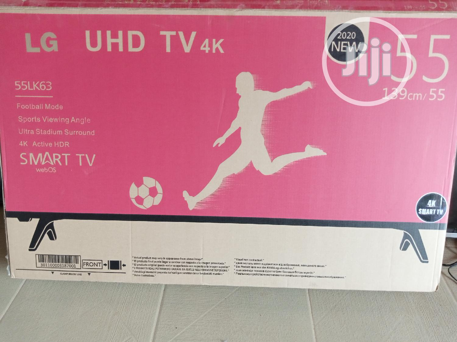 LG Smart 4K TV 55 Inches