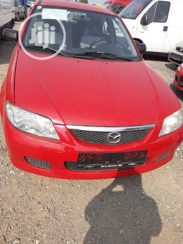 Mazda 323 2001 Red