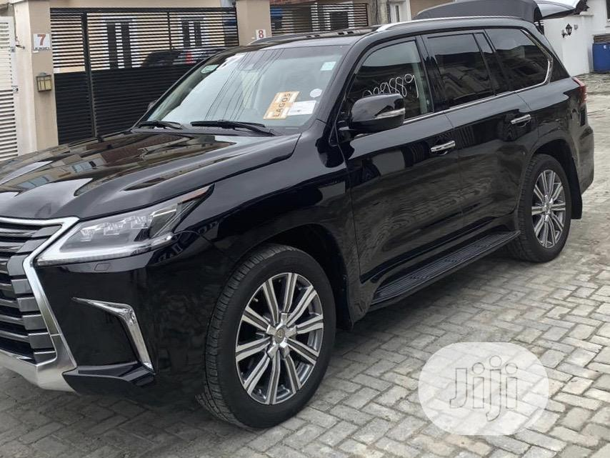 Lexus LX 2017 570 Base Black | Cars for sale in Lekki, Lagos State, Nigeria
