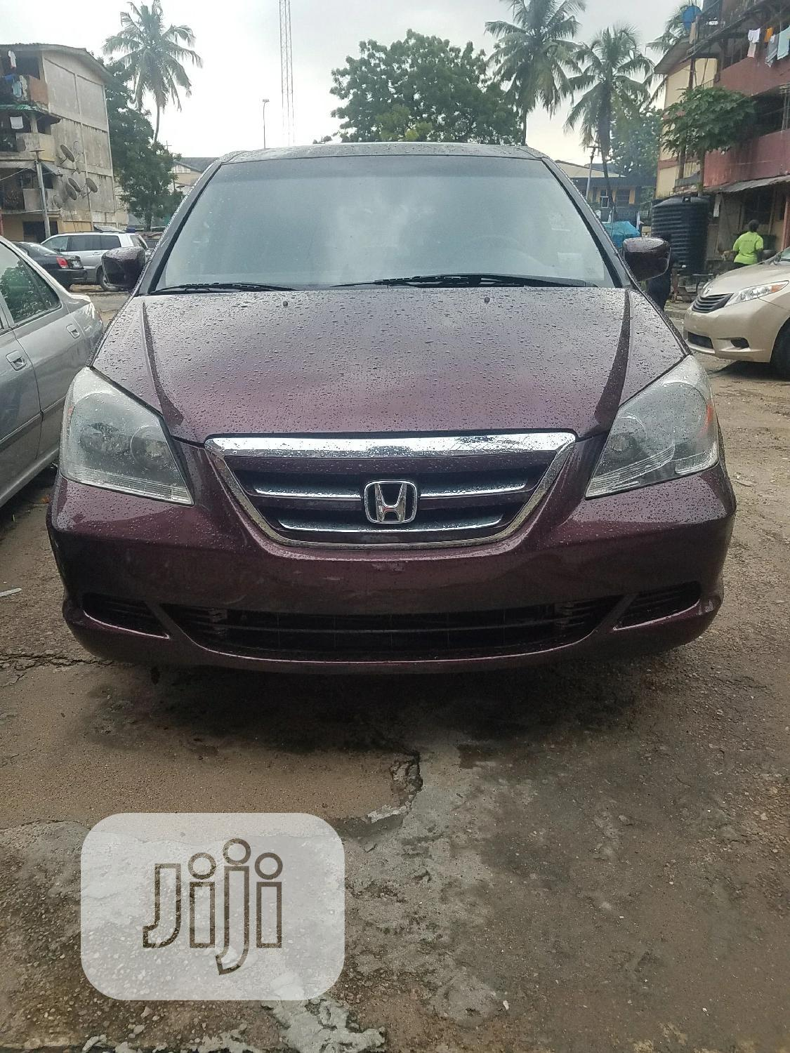 Archive: Honda Odyssey 2007 Touring Brown