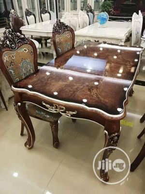 Royal Dinning Table by 6 With Charis   Furniture for sale in Lagos State, Lekki
