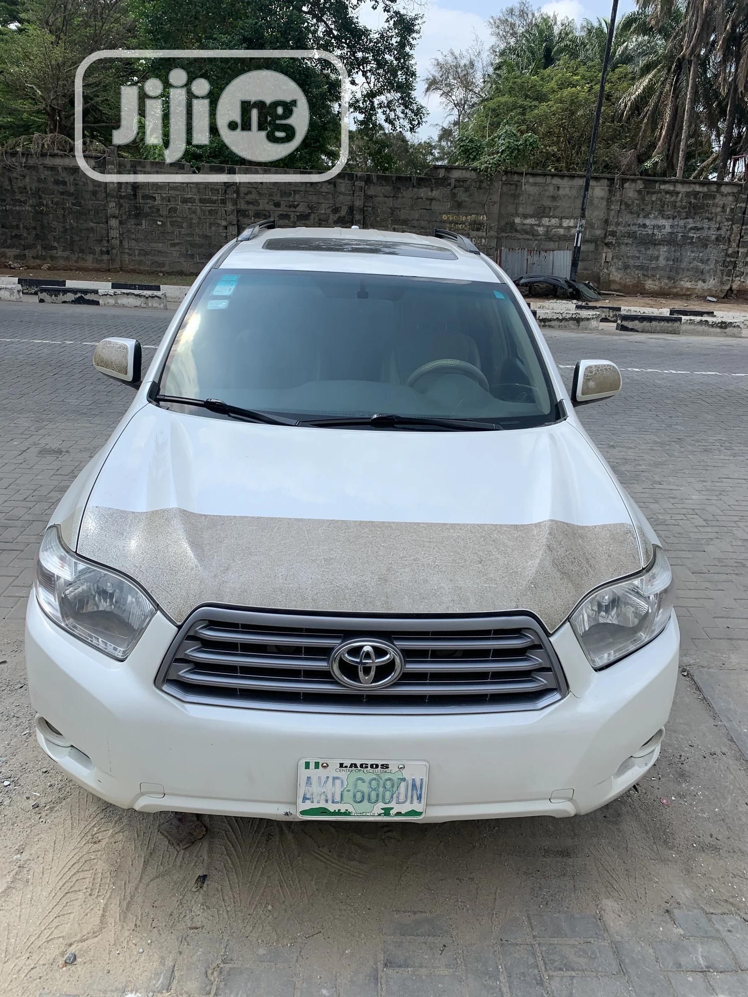 Toyota Highlander 2010 White   Cars for sale in Ikoyi, Lagos State, Nigeria