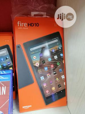New Amazon Fire HD 10 (2019) 32 GB Black   Tablets for sale in Lagos State, Ikeja