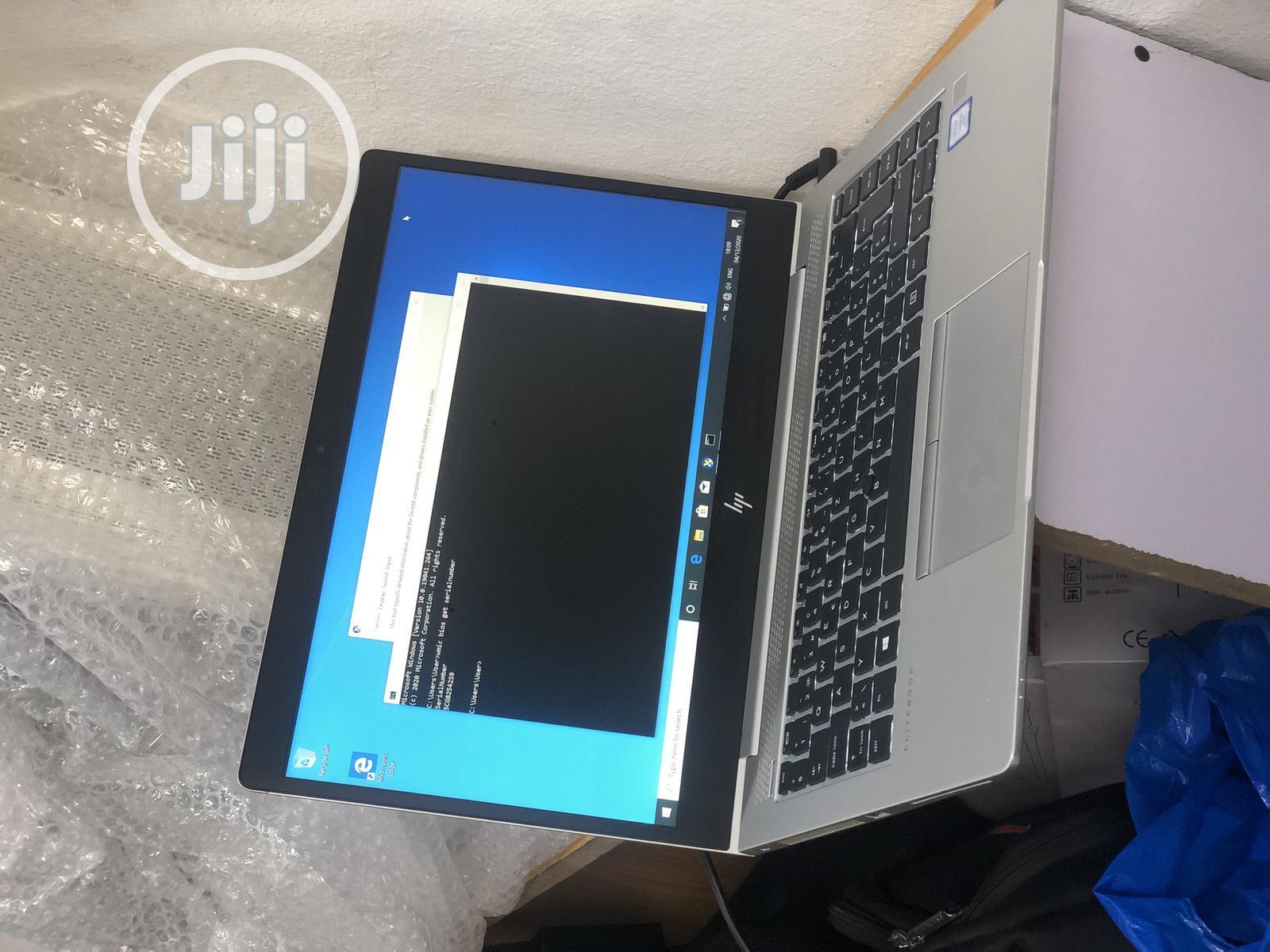Laptop HP EliteBook 840 G5 8GB Intel Core I5 SSD 256GB | Laptops & Computers for sale in Ikeja, Lagos State, Nigeria