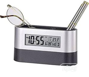Pen Stand With Time And Calendar | Stationery for sale in Abuja (FCT) State, Wuse
