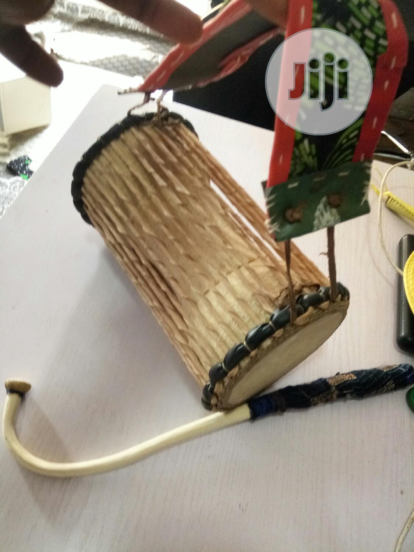 "Small Size Talking Drum ""Ilu Gangan""   Musical Instruments & Gear for sale in Ojodu, Lagos State, Nigeria"