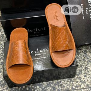 Berluti Brown Slippers | Shoes for sale in Lagos State, Apapa