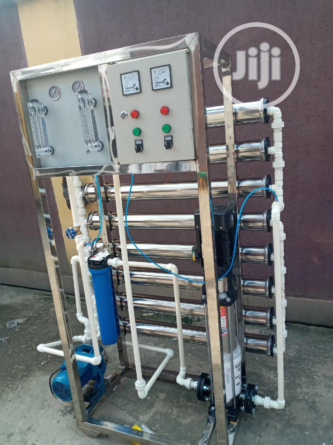 Osmosis Machines R O Water Treatment Machines 8 Membrane | Manufacturing Equipment for sale in Orile, Lagos State, Nigeria