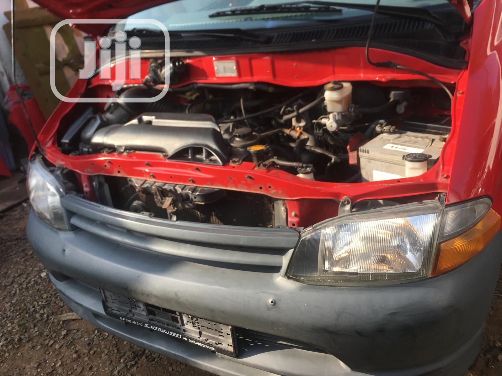 Archive: Toyota Hiace 2005 White