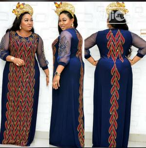 Velvet Designed Long Gown | Clothing for sale in Lagos State, Amuwo-Odofin