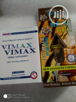 Vimax Capsules And Mens Gel For Men   Sexual Wellness for sale in Lagos State, Alimosho