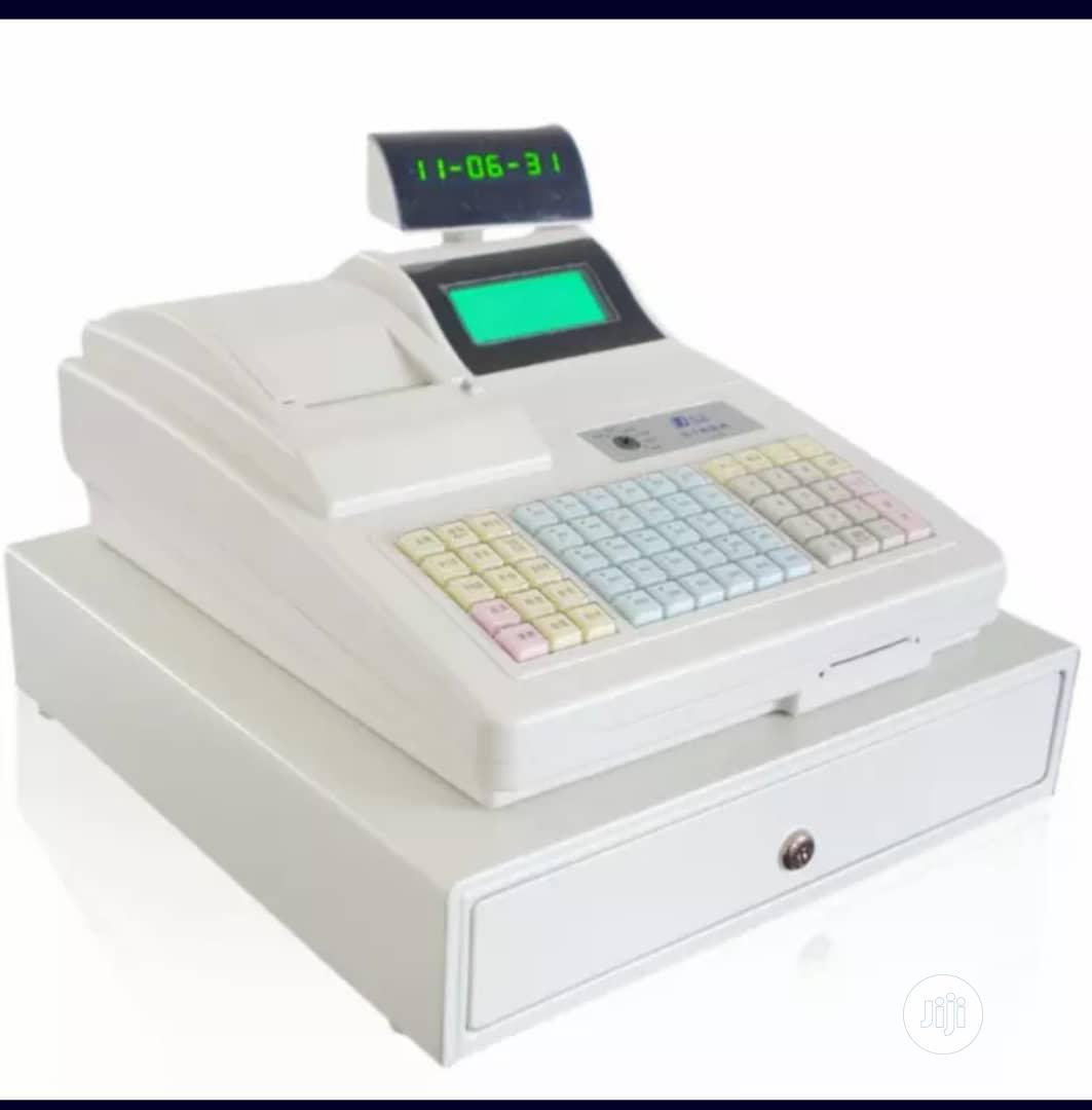 Cash Register Machine With Cash Drawer