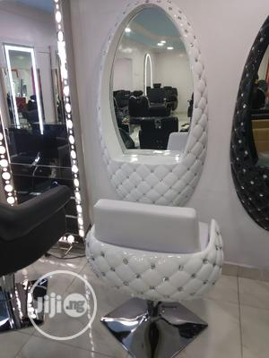 Standard Beauty Mirror And Chair | Salon Equipment for sale in Lagos State, Yaba