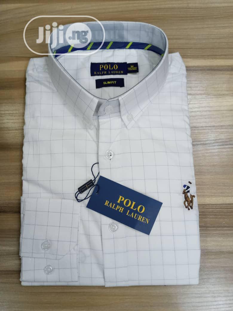 Polo Ralph Lauren Designer Shirts for Men   Clothing for sale in Lagos Island (Eko), Lagos State, Nigeria