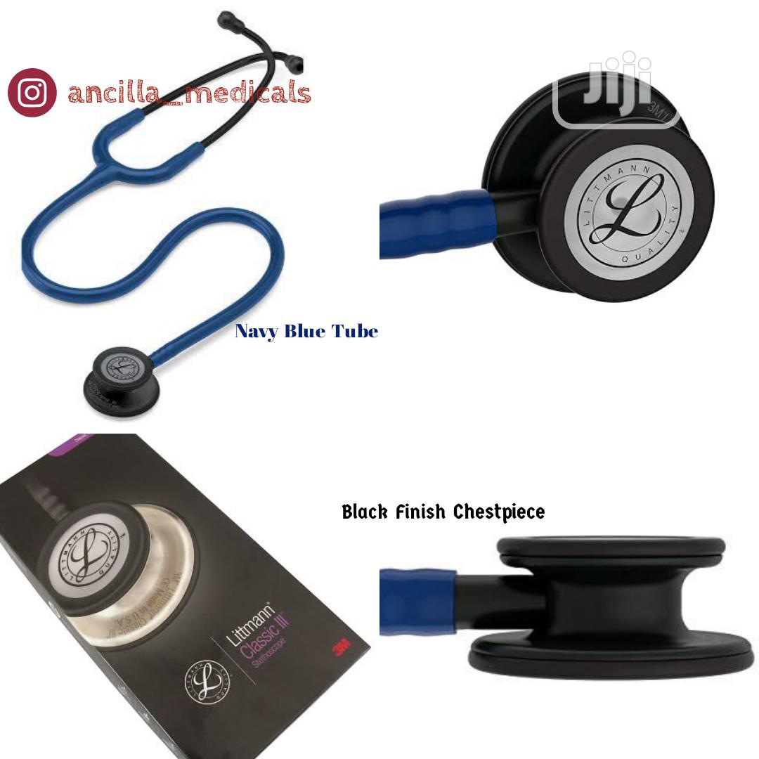 3M Littmann Classic III Stethoscope (Available in Varieties)   Medical Supplies & Equipment for sale in Yaba, Lagos State, Nigeria