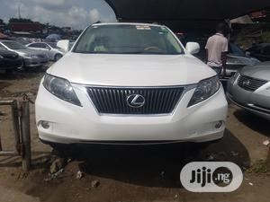 Lexus RX 2011 350 White   Cars for sale in Lagos State, Apapa