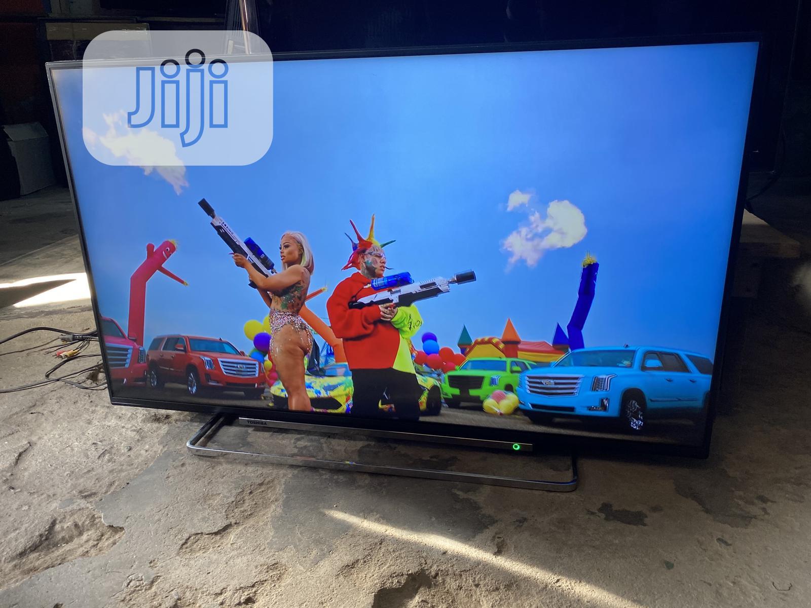 Toshiba 43inch 4K Uhd Hdr Smart LED TV   TV & DVD Equipment for sale in Ojo, Lagos State, Nigeria