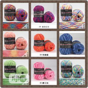 Milk Cotton Multicoloured Yarn   Arts & Crafts for sale in Abuja (FCT) State, Kubwa