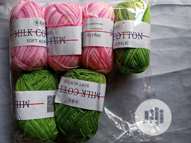 Archive: Milk Cotton Multicoloured Yarn