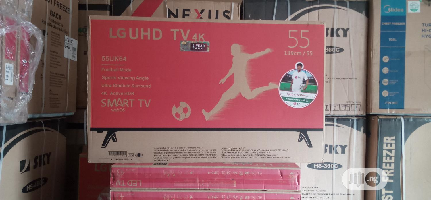 LG 55inches Tv With 2 Years Warranty | TV & DVD Equipment for sale in Warri, Delta State, Nigeria