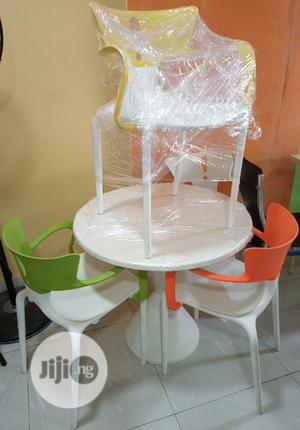 Very Unique Set Of Restaurant/ Dinning Table With 4 Chairs   Furniture for sale in Lagos State, Lekki