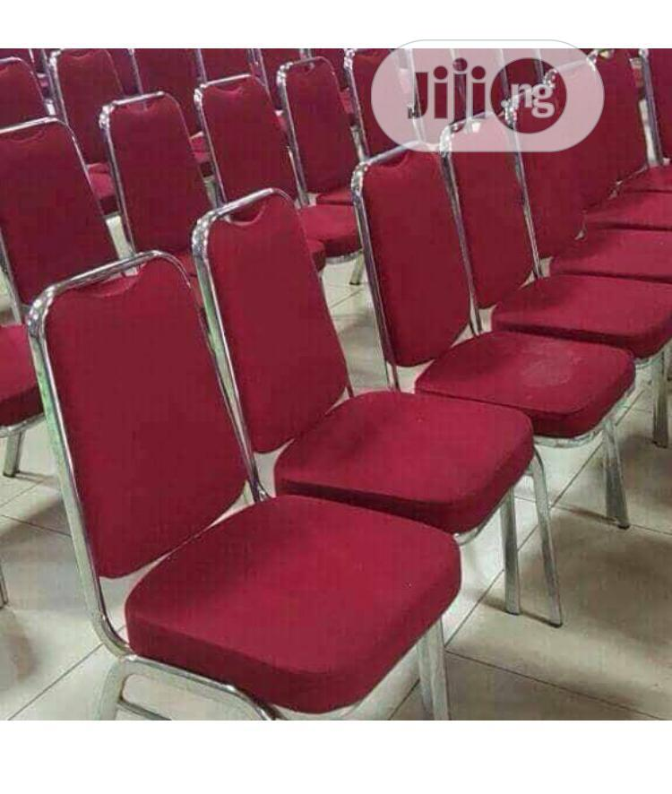 Fine Steel Conference Chair | Furniture for sale in Ojo, Lagos State, Nigeria