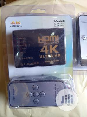4k Ultra HDMI Switch 5 Port   Accessories & Supplies for Electronics for sale in Lagos State, Ikeja