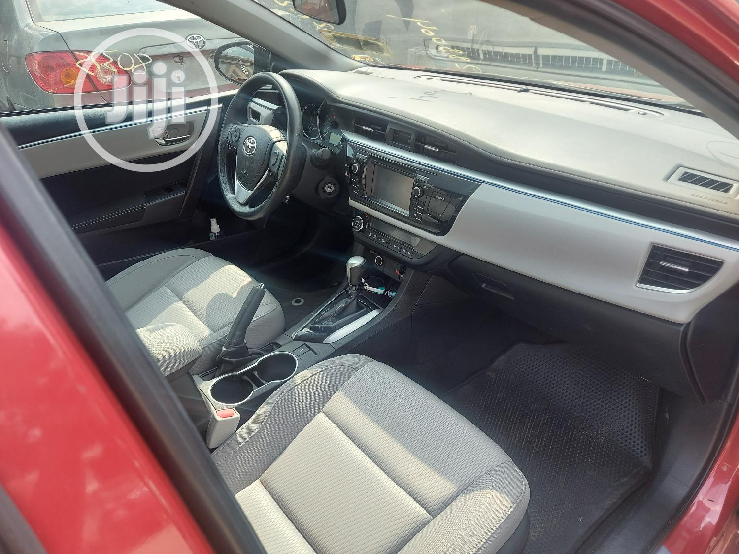 Toyota Corolla 2015 Red | Cars for sale in Ikeja, Lagos State, Nigeria