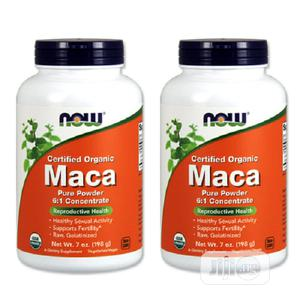 Now Foods Organic Maca Pure Powder, 6:1 Concentrate 7oz | Vitamins & Supplements for sale in Lagos State, Amuwo-Odofin