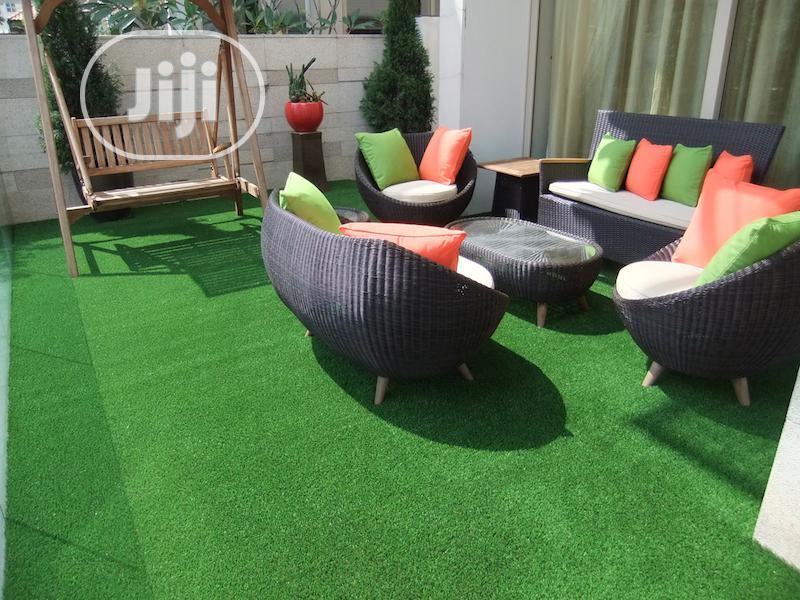 Artificial Carpet Grass   Garden for sale in Ojo, Lagos State, Nigeria