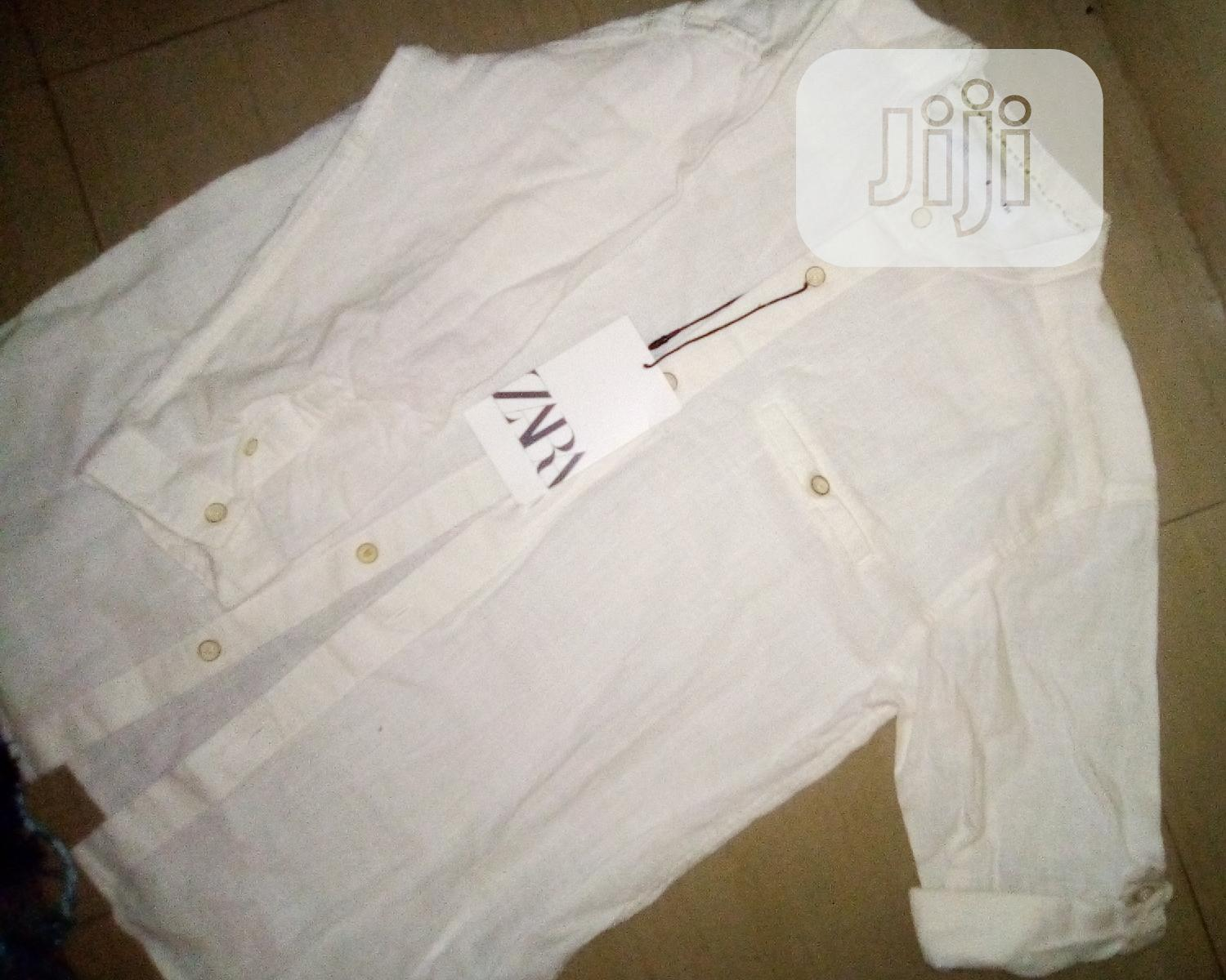 Archive: Zara Boy'S Linen Long Sleeve Shirt Age: 9years