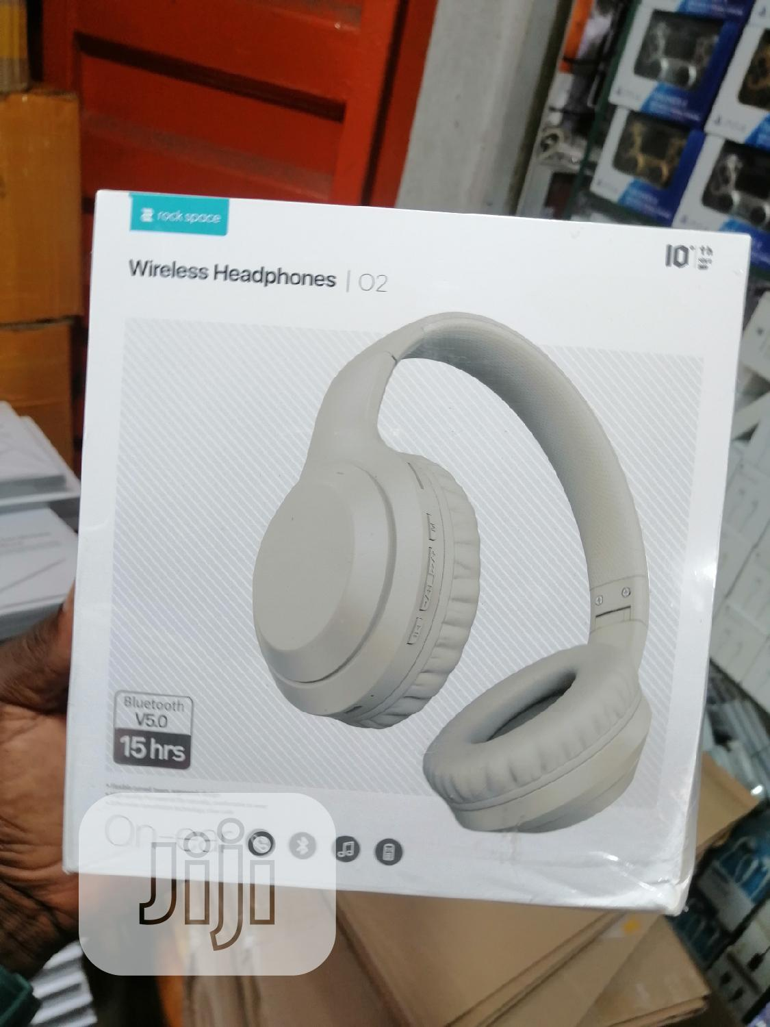 Active Noise Cancellation Wireless Headphone Rock Space ANC