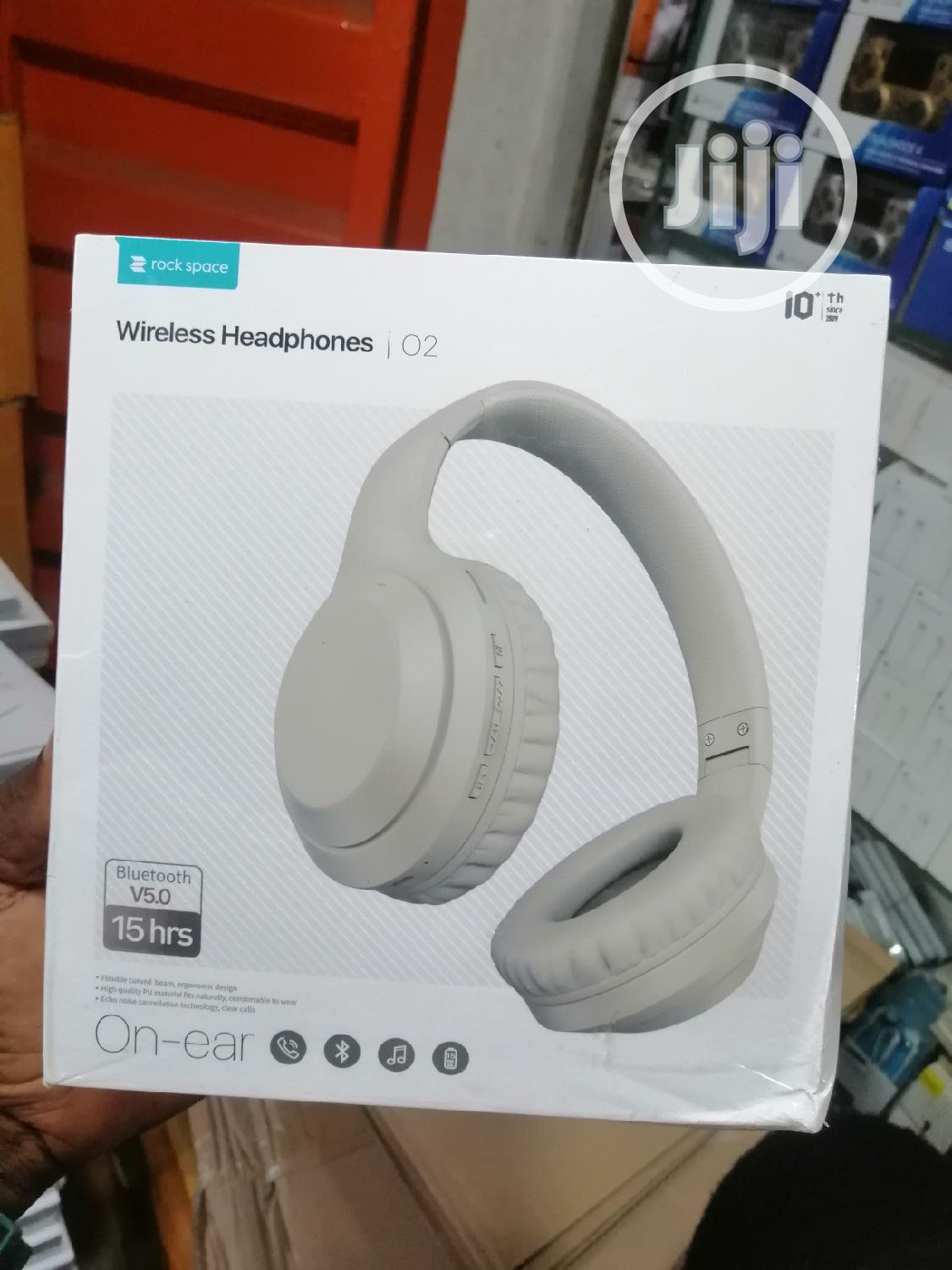 Active Noise Cancellation Wireless Headphone Rock Space ANC | Headphones for sale in Ikeja, Lagos State, Nigeria