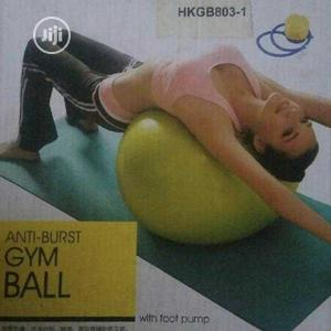 Gym Ball/Anti Burst Gym Ball   Sports Equipment for sale in Lagos State, Ajah