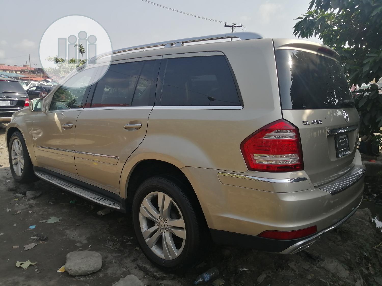 Mercedes-Benz GL Class 2012 GL 450 Gold | Cars for sale in Apapa, Lagos State, Nigeria