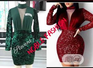 Sequence Short Gown   Clothing for sale in Lagos State, Ojo