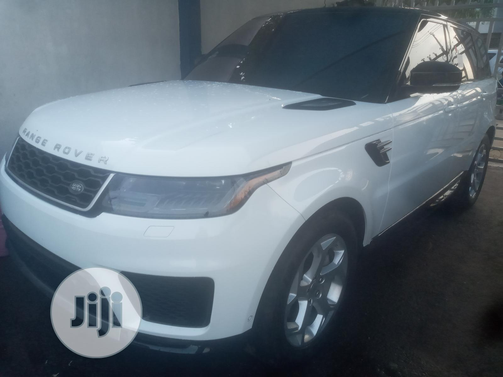 Land Rover Range Rover Sport 2019 HSE Dynamic White | Cars for sale in Ikeja, Lagos State, Nigeria
