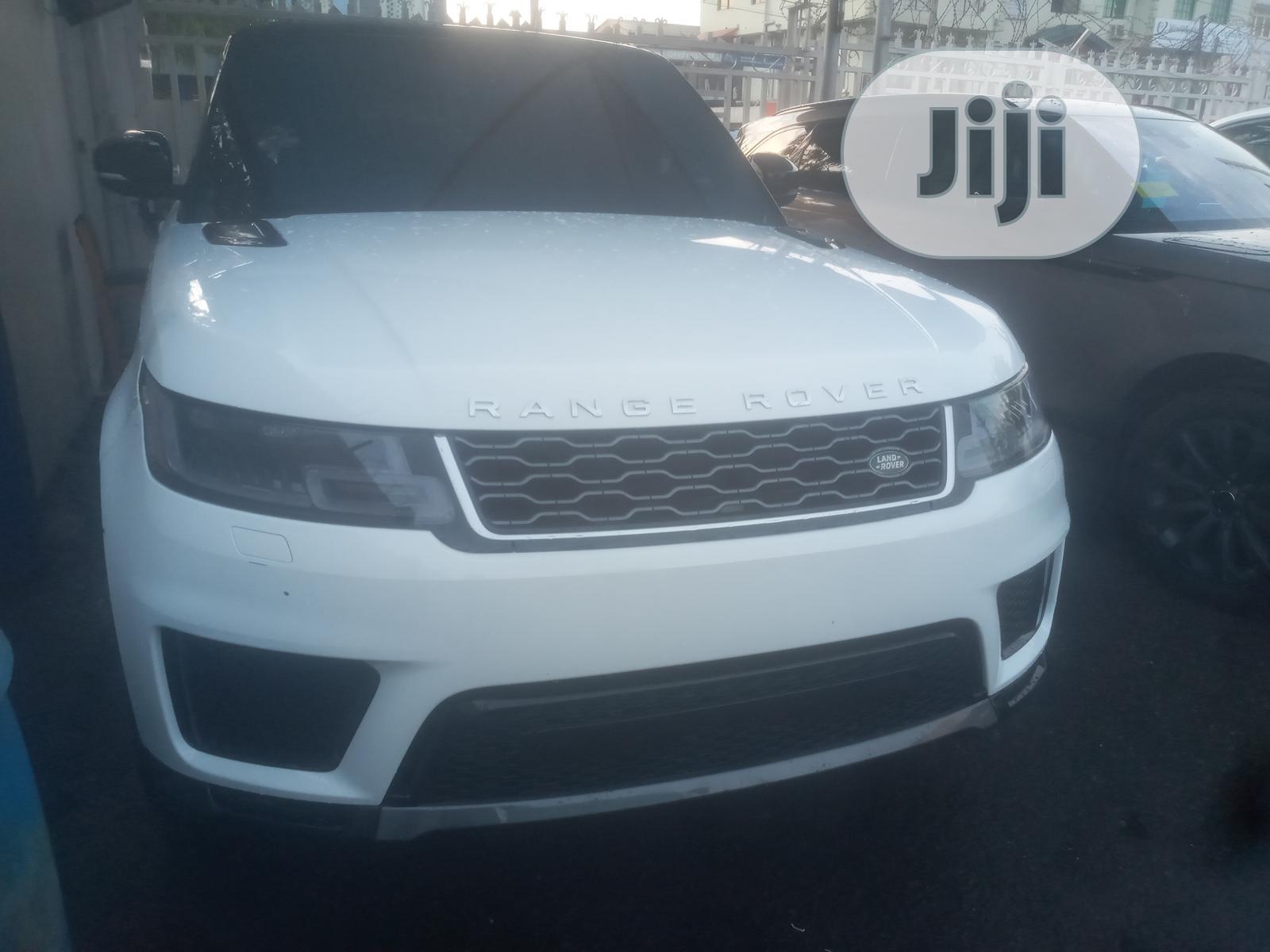 Land Rover Range Rover Sport 2019 HSE Dynamic White